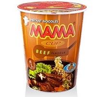 MAMA instant juha s pšeničnimi rezanci z okusom govedine 70g