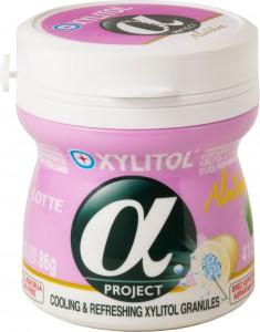LOTTE Alpha Xylitol ALOE VERA 86g