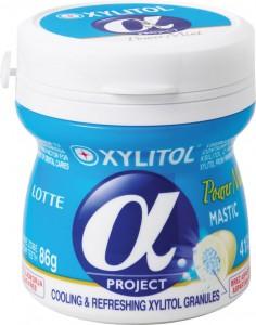 LOTTE Alpha Xylitol Powermint 86g