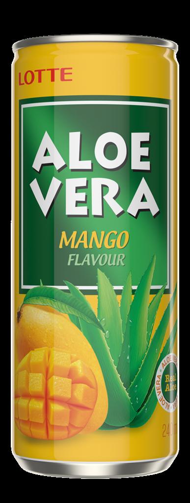 Aloe vera 240ml MANGO frontal