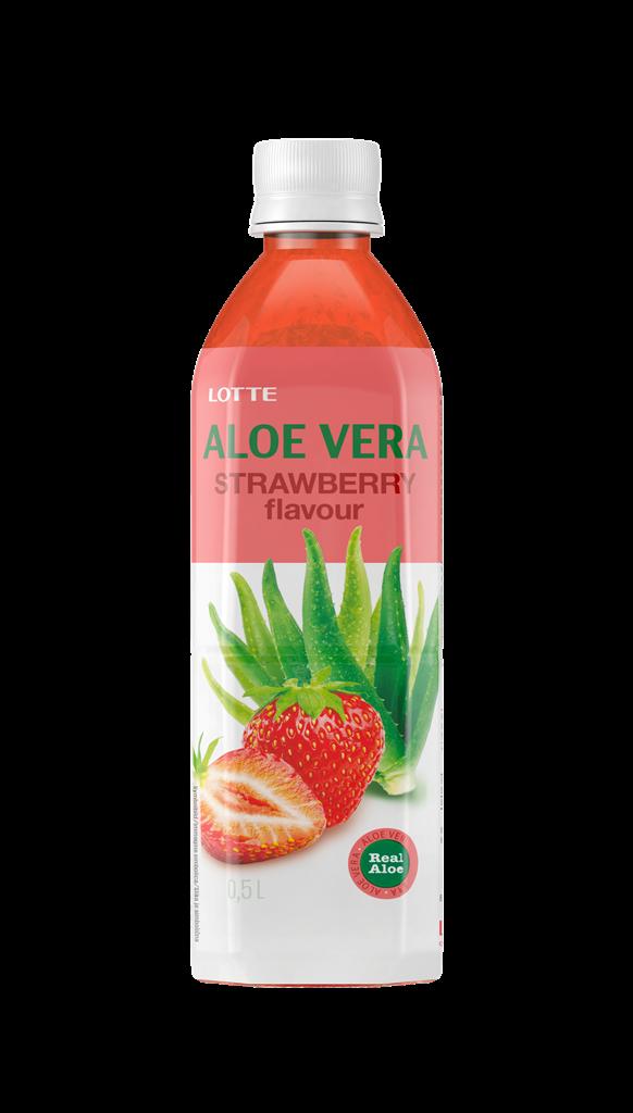 AloeVera strawberry 500 brez podlage