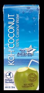 KOH COCONUT 100% kokosova voda 250ml