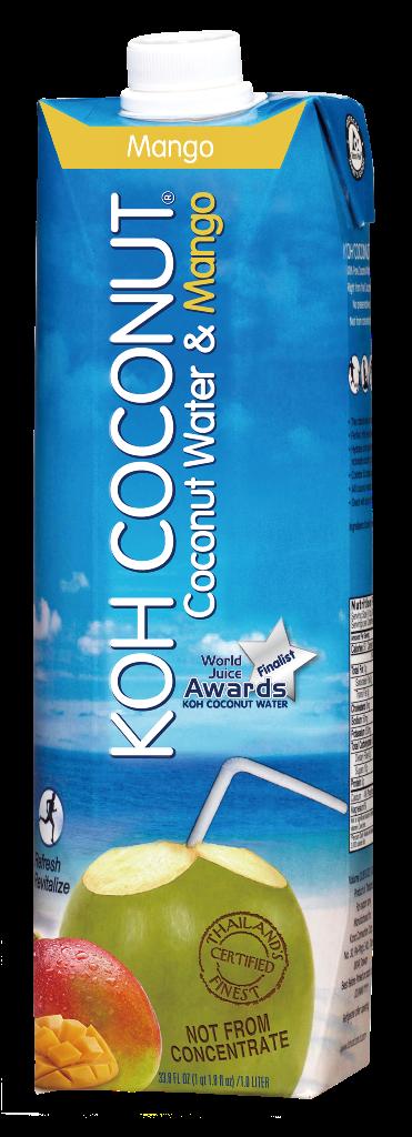 Koh Coconut 100% kokosova voda s sokom manga 1l