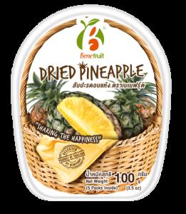 BeneFruit Dried Pineapple 100g