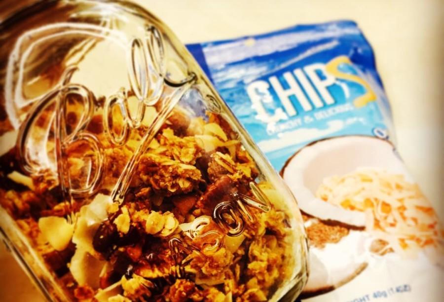 Koh Coconut veganska granola